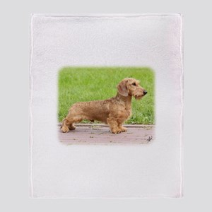 Dachshund 9Y426D-178 Throw Blanket