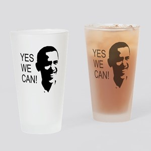 Obama's Face: Drinking Glass