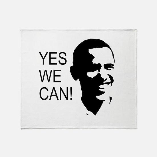 Obama's Face: Throw Blanket