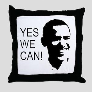 Obama's Face: Throw Pillow
