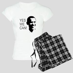 Obama's Face: Women's Light Pajamas