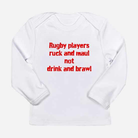 Ruck and maul Long Sleeve Infant T-Shirt