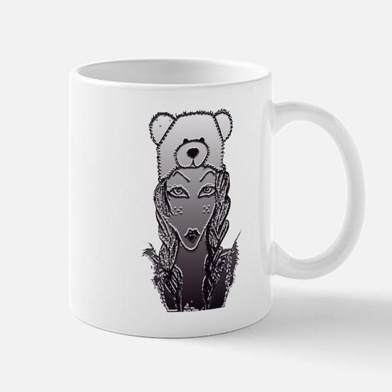 bear  crome Mugs