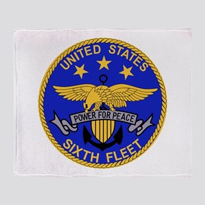 Go Navy Throw Blanket