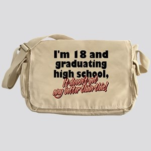 I'm Eighteen Messenger Bag