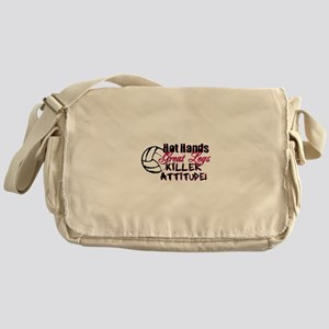 Hot Hands & Great Legs Messenger Bag