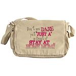 Not Just a SAHM Messenger Bag