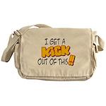 Kick Out of This Messenger Bag