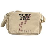 My Bird Walks... Messenger Bag