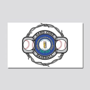 Kentucky Baseball Car Magnet 20 x 12