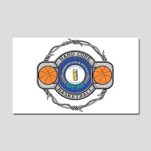 Kentucky Basketball Car Magnet 20 x 12