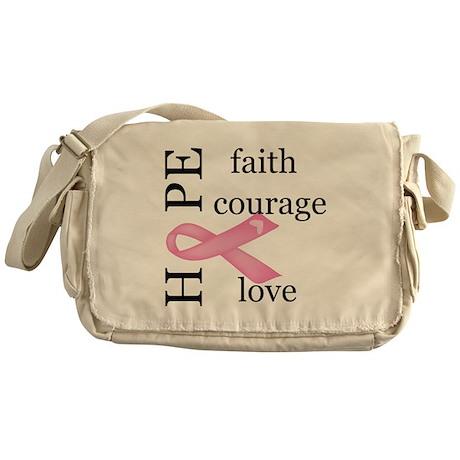 Breast Cancer Messenger Bag