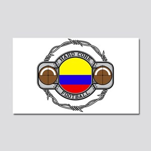 Colombia Football Car Magnet 20 x 12