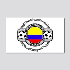 Colombia Soccer Car Magnet 20 x 12