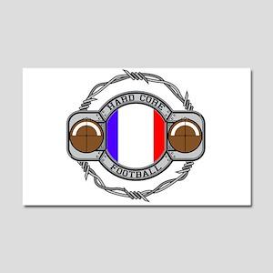 France Football Car Magnet 20 x 12