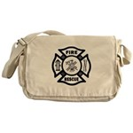 Fire Rescue Messenger Bag