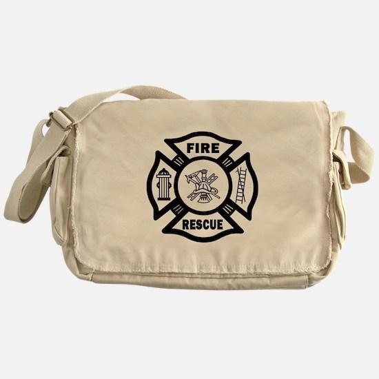Fire Rescue Messenger Bag