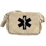 EMS Star of Life Messenger Bag