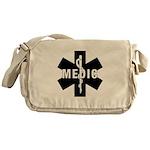 Medic EMS Star Of Life Messenger Bag