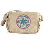 EMT Logo Pastel Messenger Bag