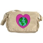 Love Our Planet Messenger Bag