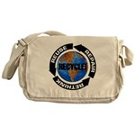 Recycle World Messenger Bag