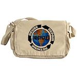 Recycle World Messenger Bag