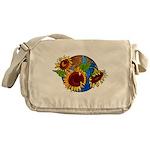 Sunflower Planet Messenger Bag