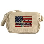 9-11-01 Never Forget Messenger Bag