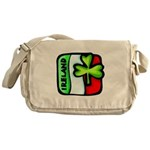 Irish Flag of Ireland Messenger Bag