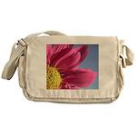 Pink Gerbera Daisy Messenger Bag