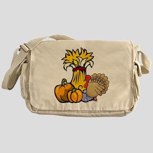 Thanksgiving Harvest Messenger Bag