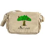 Plant A Tree Messenger Bag