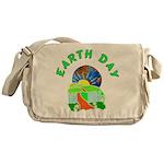 Earth Day Home Messenger Bag