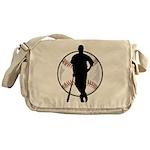 Baseball Catch Messenger Bag