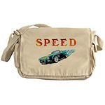 Speed Cars Messenger Bag