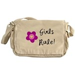 Girls Rule Messenger Bag
