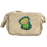 Desert Cactus Messenger Bag