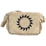 Sunny Flames Messenger Bag