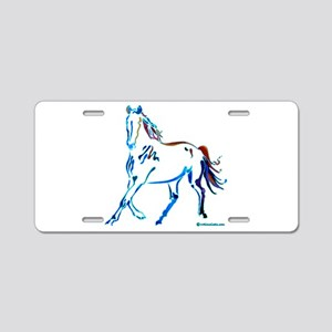 Horse of Many Colors Aluminum License Plate