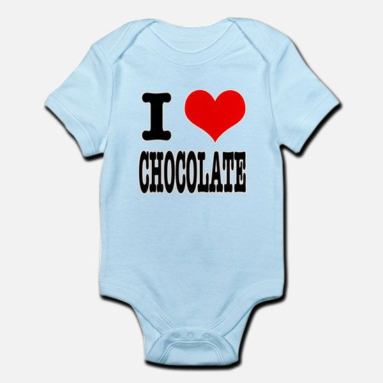 I Heart (Love) Chocolate Infant Bodysuit
