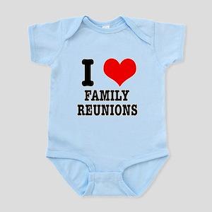 I Heart (Love) Family Reunion Infant Bodysuit
