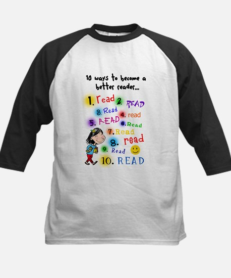 Read Better Kids Baseball Jersey