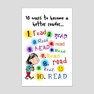 Read Better Mini Poster Print