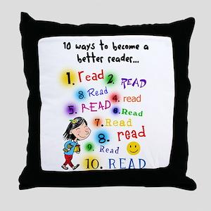Read Better Throw Pillow