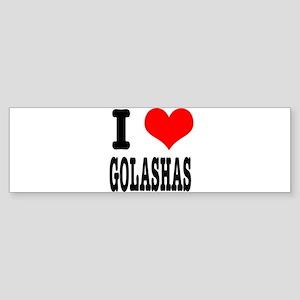 I Heart (Love) Galashas Sticker (Bumper)