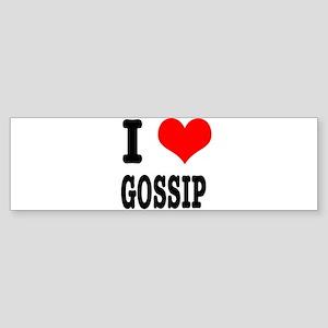 I Heart (Love) Gossip Sticker (Bumper)