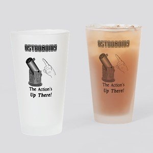 The Astronomy Action Drinking Glass