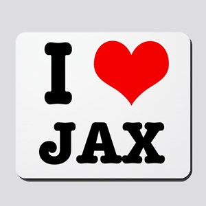I Heart (Love) Jax Mousepad