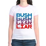 Bush...Liar Jr. Ringer T-Shirt